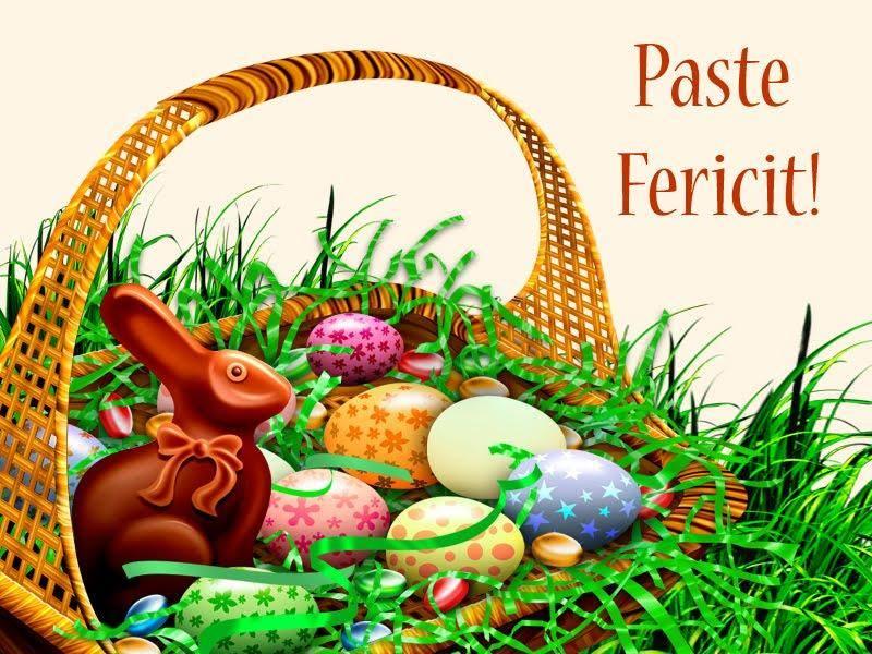 Redacția ASALT vă urează un PașteFericit!