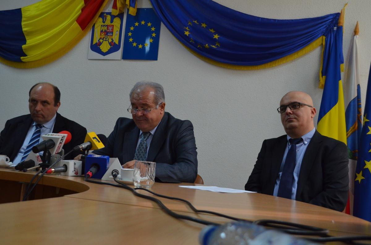 Ion Călinoiu s-a despărțit de Tetraedru la SpitalulJudețean