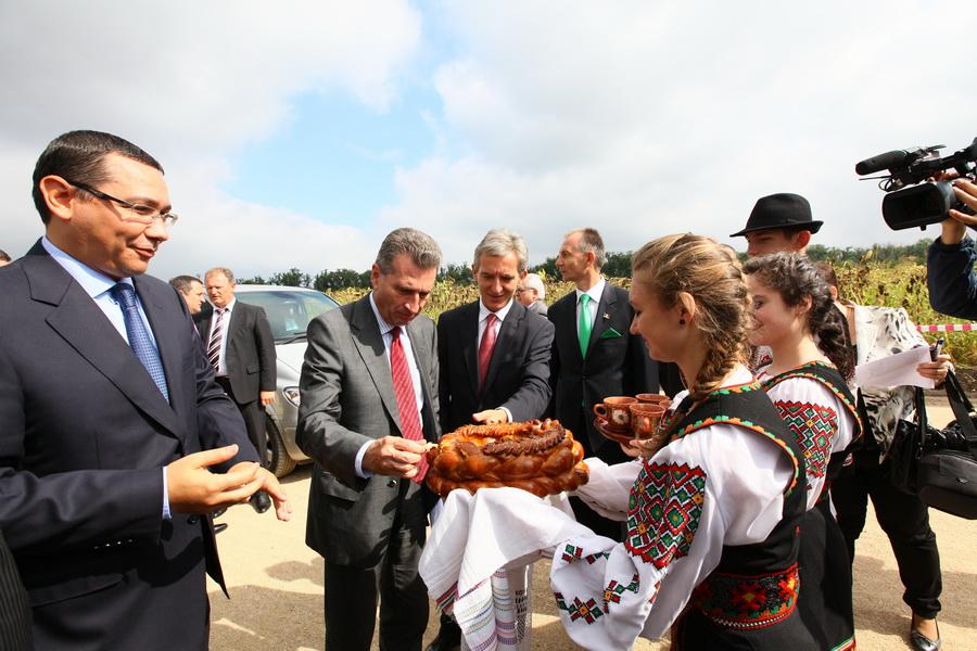 Un gazoduct unește România șiMoldova