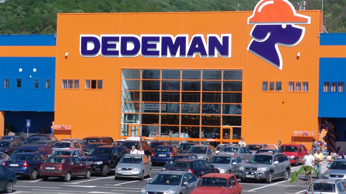 Dedeman, de vineri laTârgu-Jiu
