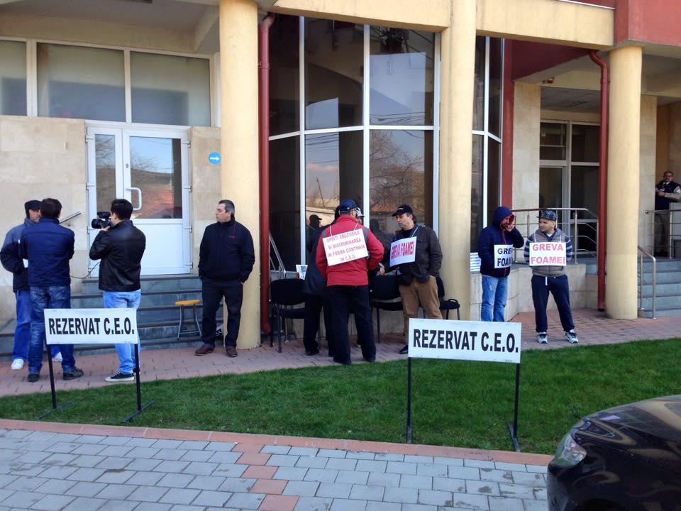Protestul  sindicaliștilor din CEO continuă, insolvența bate laușă