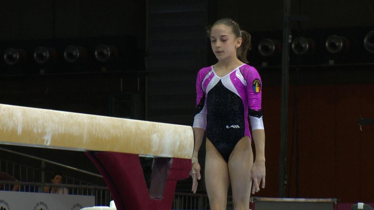 Andreea Munteanu, gimnasta de aur aGorjului